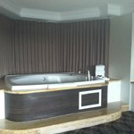 Spa Suite Jacuzzi in Living Room Area