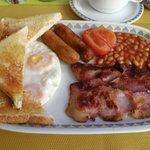 The best full English breakfast we had in Alvor