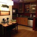 Kitchen area - Room #327