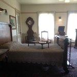 Mrs. Winchester's bedroom...