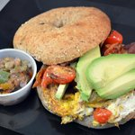 Avo Ranchero Egg Sandwich