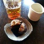 tea and sweet pairing at teafarm