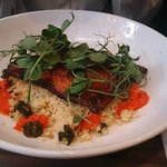 Smoked Paprika Seabream And Herb Cous Cous