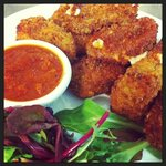 Hand-Breaded Fried Mozzarella
