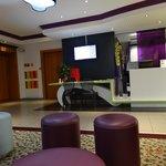 Reception area at Ibis Styles, Luzern