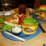 Ponderoas Cafe- Best Black Angus Cheeseburger Anywhere