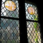 Fifteenth century, leaded stained-glass windows.