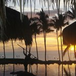 Sunset from Humunukuapuaa Restaurant, Grand Wailea (melissa mccoy)