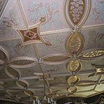 Listed Gold leaf ceilings