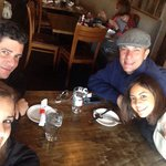 Enjoying our moment at Vail in one of the best restaurants in town - JoseMaria ; Eric; Tiana y Y