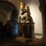 15th century statue of Charlemagne