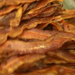 Crisp bacon is out of this world
