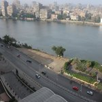 View of the Nile from 15th Floor