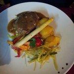 Fillet steak. Succulent.