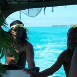 Our guides.  Mahana and Mark (from the bible yea?)  ; )