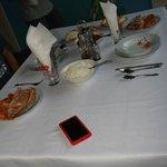 Dinner at Casa Villa Caricia