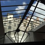 skylight of the living room