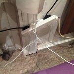 Power socket in bedroom
