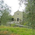 The little Church next to the Agriturismo