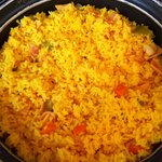 Arroz amarillo !
