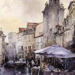 Watercolor by Vladislav Yeliseyev