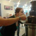 chocolate fountain!