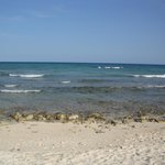 Tulums beach; rocky; good for walks. Swim at Akumal beach(30second walk away)