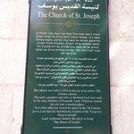 Placa de la Iglesia de San José.
