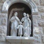 Estatuas de la Sagrada Familia.