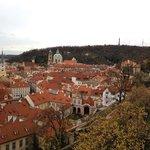 Вид на город и Петршинскую башню