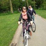 We Bike Amsterdam - biking through Vondelpark