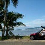 découverte de l'île en roadster