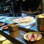 Sushi/seafood buffet