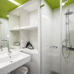 Green City Hotel Vauban Badezimmer