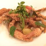 Soft shell crab filled with layers of flavor