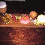 Deserts tastings plate YUMMO !