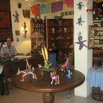 Inside Lucy's CuCu Cabana & Zoo