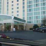 Chegando no hotel