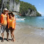 Beach going to the Underground River