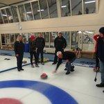 Curling - what fun.