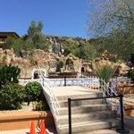 The Falls near pool area