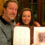 Artist, Alison Jane Rice enjoys fine dining at Galileo Restaurant Perth WA