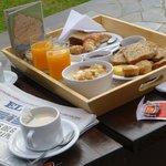 Desayuno en el parque