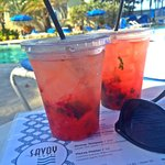 Happy Hour!! 2 for 1 drinks (Pink Mists)