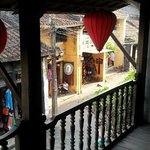 View out of balcony in the Museum of Trade Ceramics Hoi An Old Town