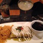 Nice Presentation & Taste, but Tough Chicken Enchiladas Suizas 5/1/14