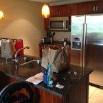 Room kitchen (excuse groceries!)