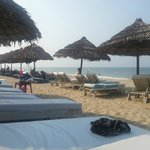 Private beach with free hotel transfer (chairs no fee)