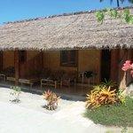 Sasak style rooms at Kuta Bay Homestay