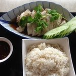 Chicken with Garlic Rice